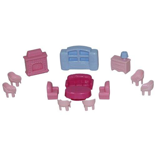 Полесье Набор мебели для кукол конструктор мебель для кукол набор мебели для больших кукол