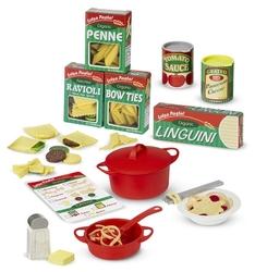 Набор продуктов с посудой Melissa & Doug Prepare & Serve Sasta Set 9361