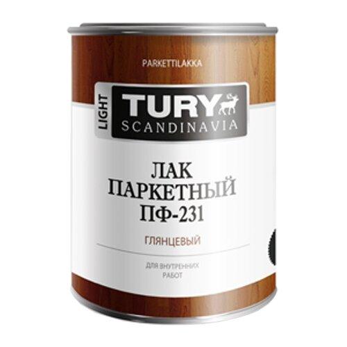 Лак TURY Паркетный ПФ-231 0.9 кг