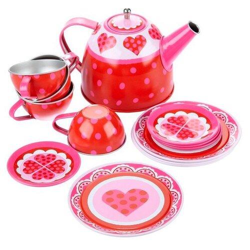 Набор посуды Alex Heart Tin Tea юбка alex lu alex lu mp002xw1701x