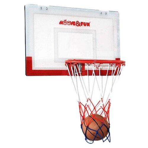 Баскетбольный щит Moove&Fun шлем moove
