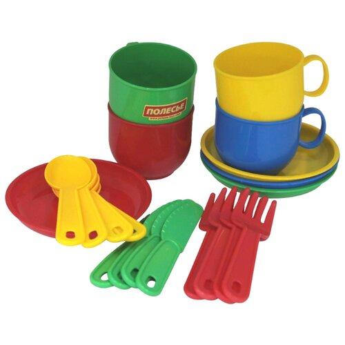 Фото - Набор посуды Полесье Минутка на полесье набор игрушек для песочницы 468 цвет в ассортименте
