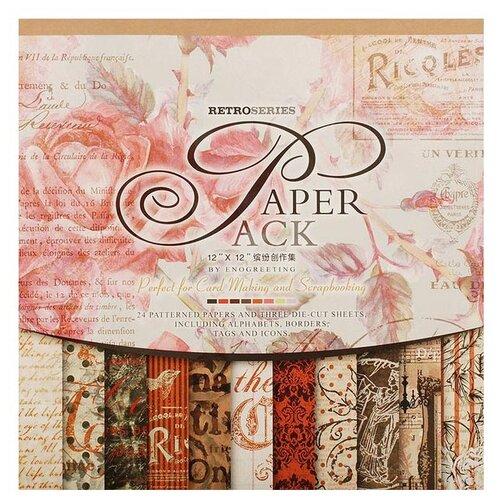 Бумага Белоснежка 305x305 см 24 бумага для рукоделия белоснежка цветущие сады 30 х 45 см