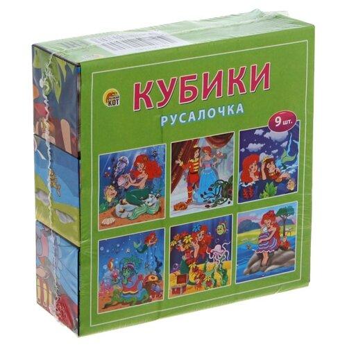 Кубики-пазлы Рыжий кот