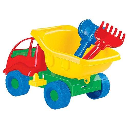 Фото - Грузовик Полесье Муравей 3133 полесье набор игрушек для песочницы 56 муравей цвет в ассортименте
