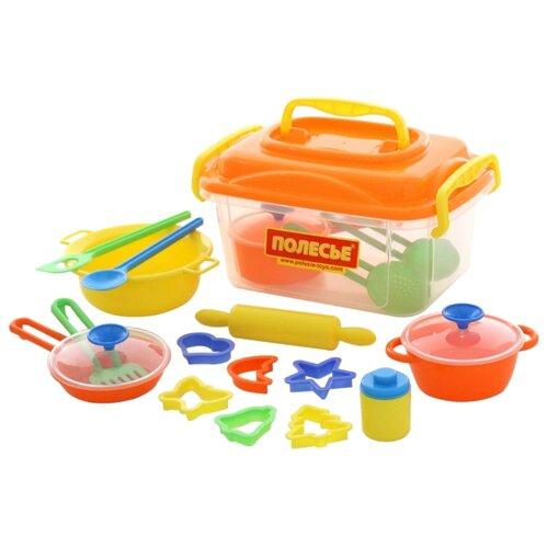 Фото - Набор посуды Полесье 20 полесье набор игрушек для песочницы 468 цвет в ассортименте
