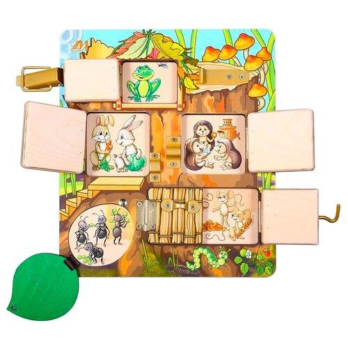 деревянные игрушки Бизиборд Деревянные игрушки