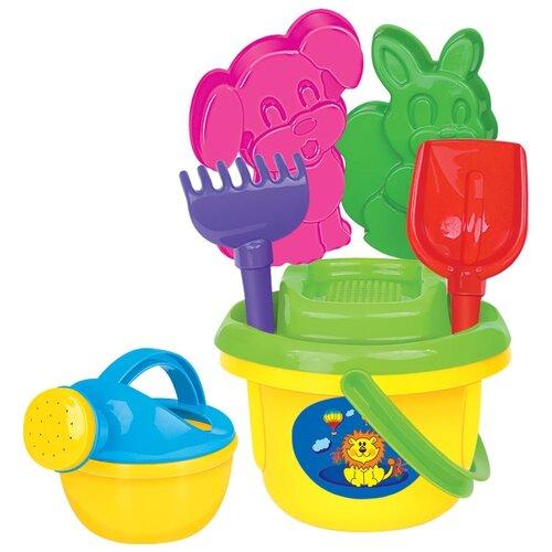 Фото - Набор Полесье №199 8983 полесье набор игрушек для песочницы 468 цвет в ассортименте