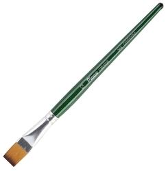 Кисть Pinax Creative, синтетика универсальная №12, плоская, с короткой ручкой, в упаковке