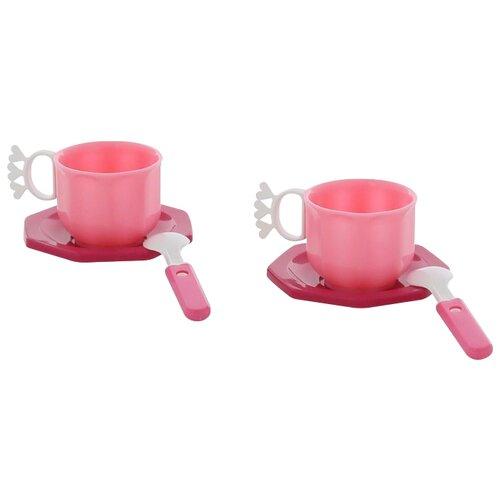 Фото - Набор посуды Полесье Ретро на 2 полесье набор игрушек для песочницы 468 цвет в ассортименте