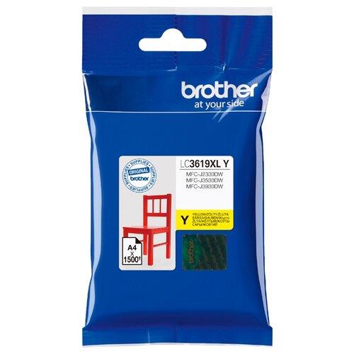 Картридж Brother LC3619XLY картридж brother lc3619xly 1500 стр