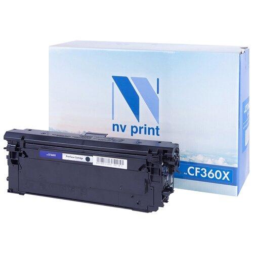 Фото - Картридж NV Print CF360X для HP картридж nv print q7581a для hp