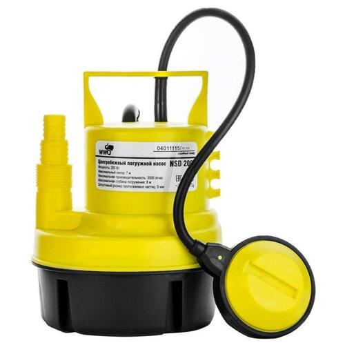 Дренажный насос WWQ NSD 200 200 насос для воды wwq nsv1 16