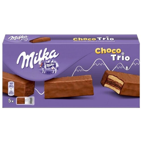 Пирожное Milka Choco Trio