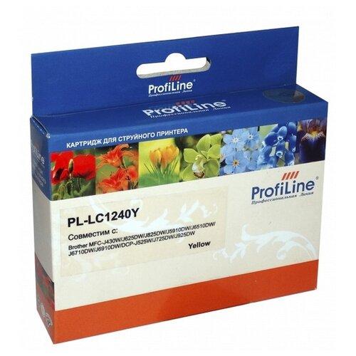 Фото - Картридж ProfiLine PL-LC1240Y-Y картридж profiline pl c9722a y