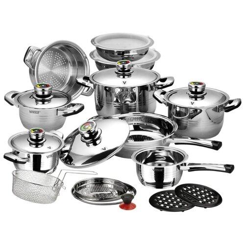 Набор посуды Vitesse VS-1003 23 набор посуды из 12 предметов vitesse melanie vs 2063