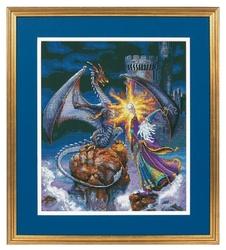 Dimensions Набор для вышивания крестиком Величественный волшебник 30 х 36 см (35080)