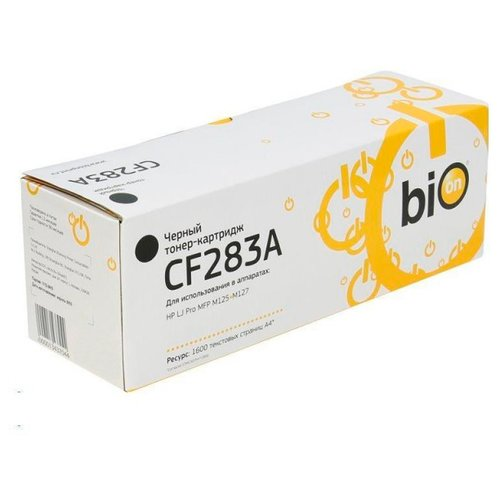 Фото - Картридж BiON CF283A совместимый картридж usaprint cf283a совместимый