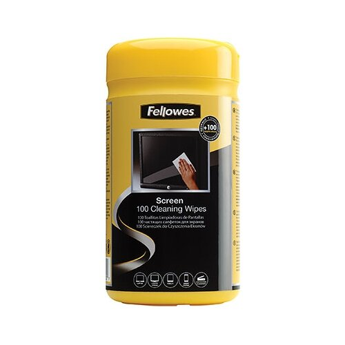 Фото - Fellowes Screen Cleaning Wipes подставка для монитора fellowes fs 91713 10 21 gray настольный до 36 кг