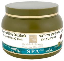 Health & Beauty Маска для волос с оливковым маслом и медом