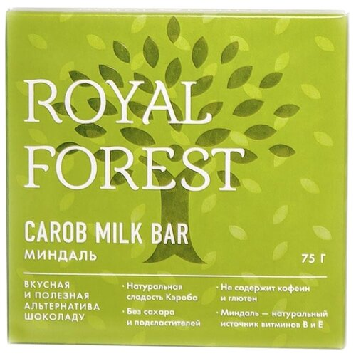 Шоколад ROYAL FOREST молочный forest entomology