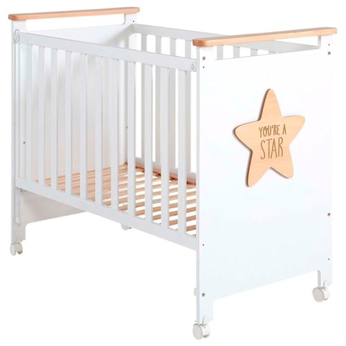 обычная кроватка 120x60 вдк magico mini берёза Кроватка Micuna Baby Star 120x60