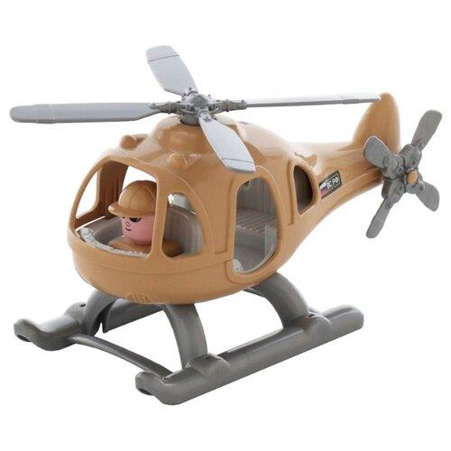 Фото - Вертолет Полесье Гром-Сафари полесье набор игрушек для песочницы 468 цвет в ассортименте