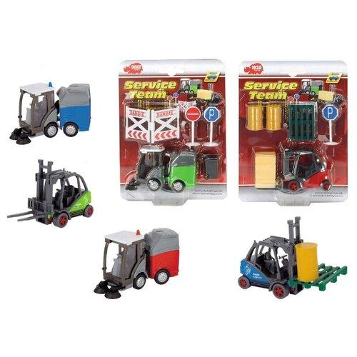 Машинка Dickie Toys Спецтехника машинка dickie городской поезд