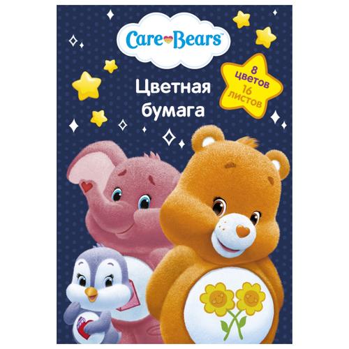 Цветная бумага Care Bears