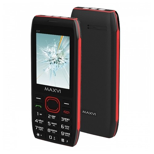 Телефон MAXVI C17 сотовый телефон maxvi c17 white red