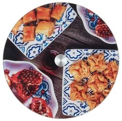 Best Home Kitchen Блюдо вращающееся Восточные сладости 32 см