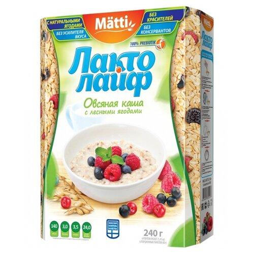 Matti Каша Лактолайф с лесными
