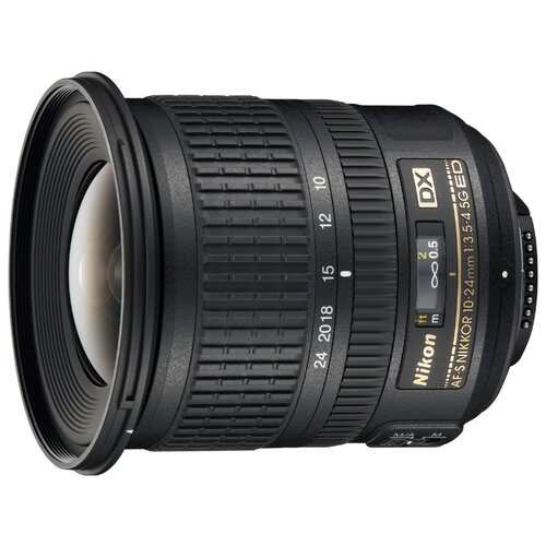 Фото - Объектив Nikon 10-24mm f мюллер в англо русский русско английский словарь с иллюстрациями для школьников 40000 слов