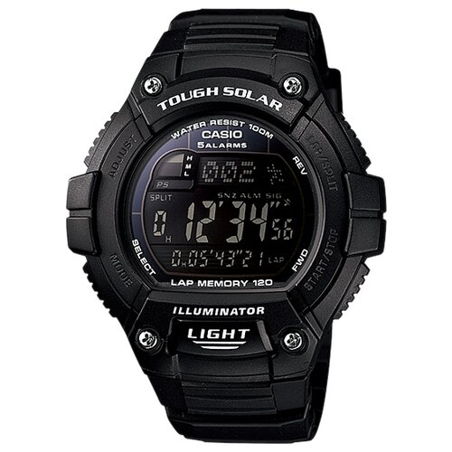 Наручные часы CASIO W-S220-1B casio часы casio w s220 1a коллекция digital