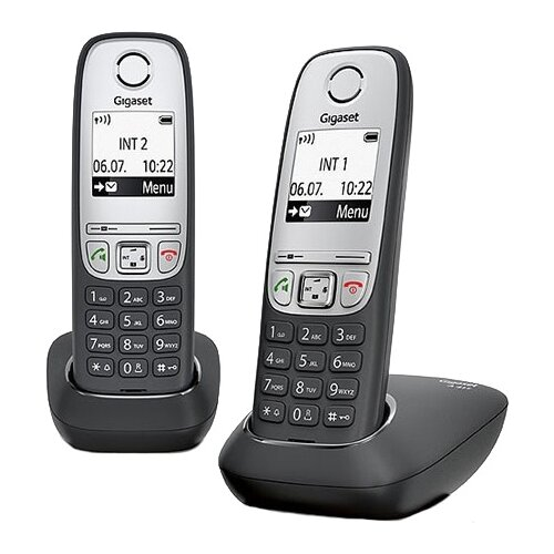 Радиотелефон Gigaset A415 Duo радиотелефон dect gigaset a415 черный
