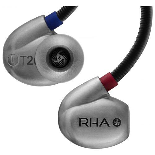 Наушники RHA T20 наушники rha cl750 серебристый