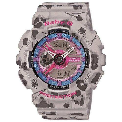 Наручные часы CASIO BA-110FL-8A casio baby g ba 110fl 8a