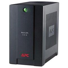 APC by Schneider Electric Back-UPS 500VA Standby with Schuko