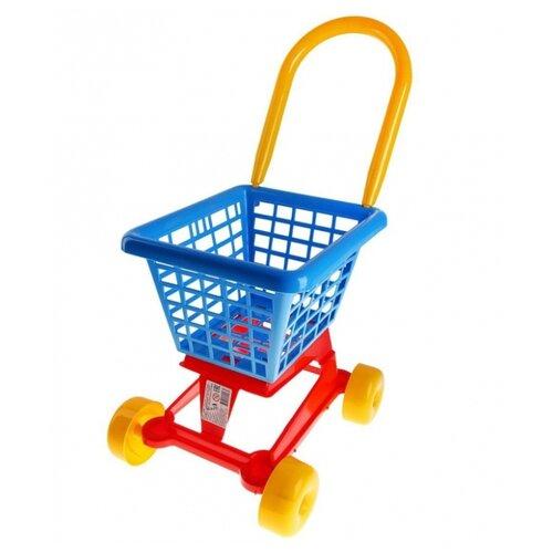 Фото - Тележка для покупок Полесье 61980 полесье игрушечная тележка supermarket 1 с набором продуктов цвет в ассортименте