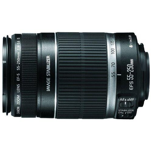 Объектив Canon EF-S 55-250mm f объектив canon ef s 55 250mm f 4 5 6 is stm