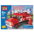 ГОРОД МАСТЕРОВ Городской транспорт BB-8834-R Пожарная машина ЗИЛ-130