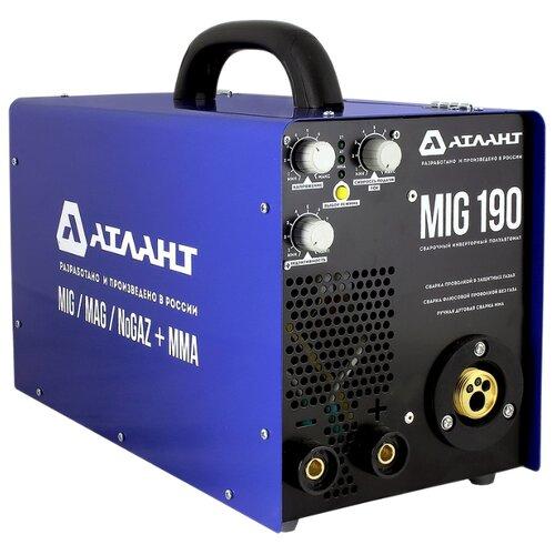 Сварочный аппарат Атлант MIG-190К багажники атлант