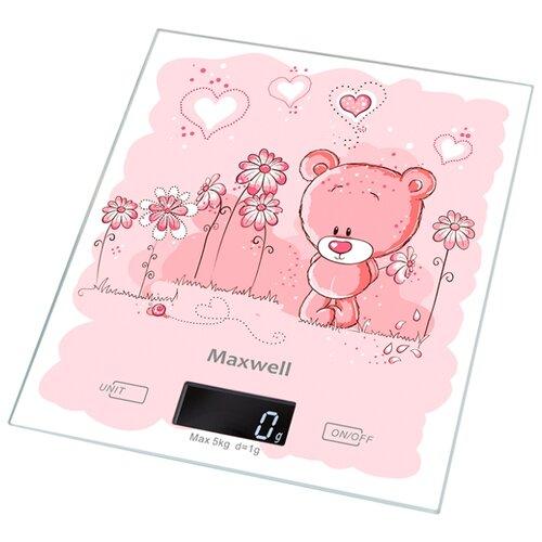 Кухонные весы Maxwell MW-1477 PK весы кухонные maxwell 1477 mw pk розовый