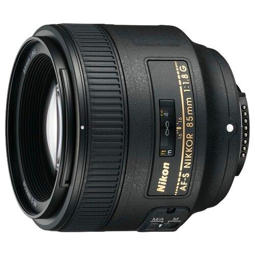 Фото - Объектив Nikon 85mm f 1.8G AF-S объектив nikon 50mm f 1 4d af