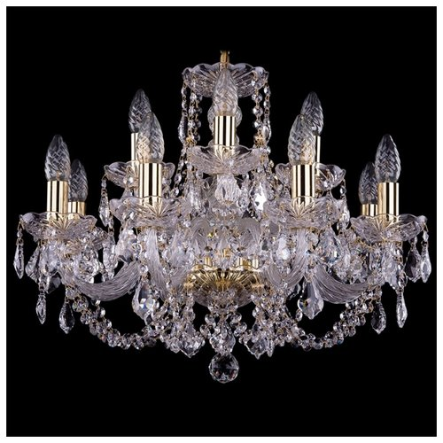 Bohemia Ivele Crystal 1406 1406 подвесная люстра bohemia ivele 1406 10 240 ni leafs