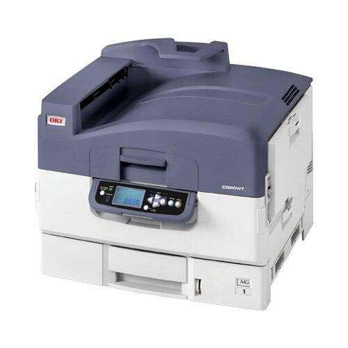 Фото - Принтер OKI C920WT принтер oki c332dn цветной a4 22 20ppm 1200x600dpi 256мб ethernet usb