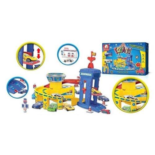 S+S Toys Пожарная станция it8718f s fxa