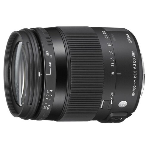 Фото - Объектив Sigma AF 18-200mm f объектив