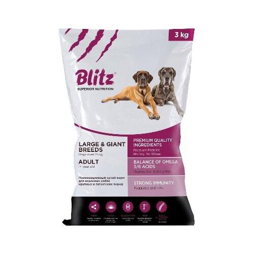 Корм для собак Blitz Adult Dog first blitz