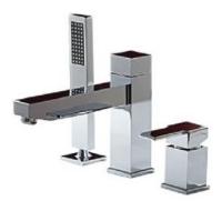 Смеситель для ванны с душем MIGLIORE Kvant ML.KVT-2755 CR однорычажный встраиваемый лейка в комплекте хром